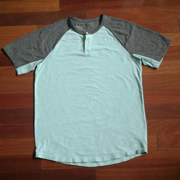2449dbda0 American Eagle Outfitters Shirts | Soldamerican Eagle Mens Green ...